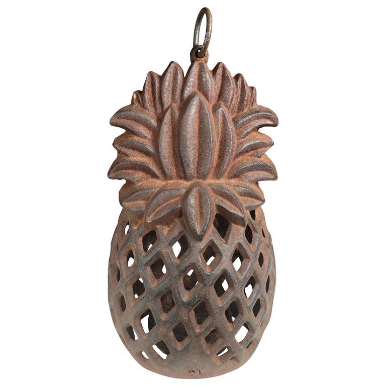 "Japanese Antique ""Pineapple"" Welcoming Flower Garden Lantern, First We've Seen For Sale"