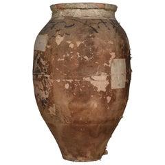 Japanese Antique Pottery 1800s-1900s Tsubo / Vase Ceramic Tsubo Wabisabi