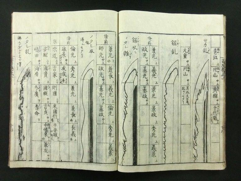 Japanese Antique Samurai Swords Complete 9 Book Set 1792 Masterpiece Prints For Sale 6