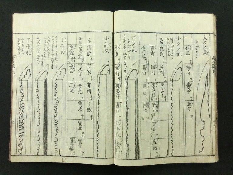 Japanese Antique Samurai Swords Complete 9 Book Set 1792 Masterpiece Prints For Sale 7
