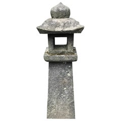Japanese Antique Stone Lantern