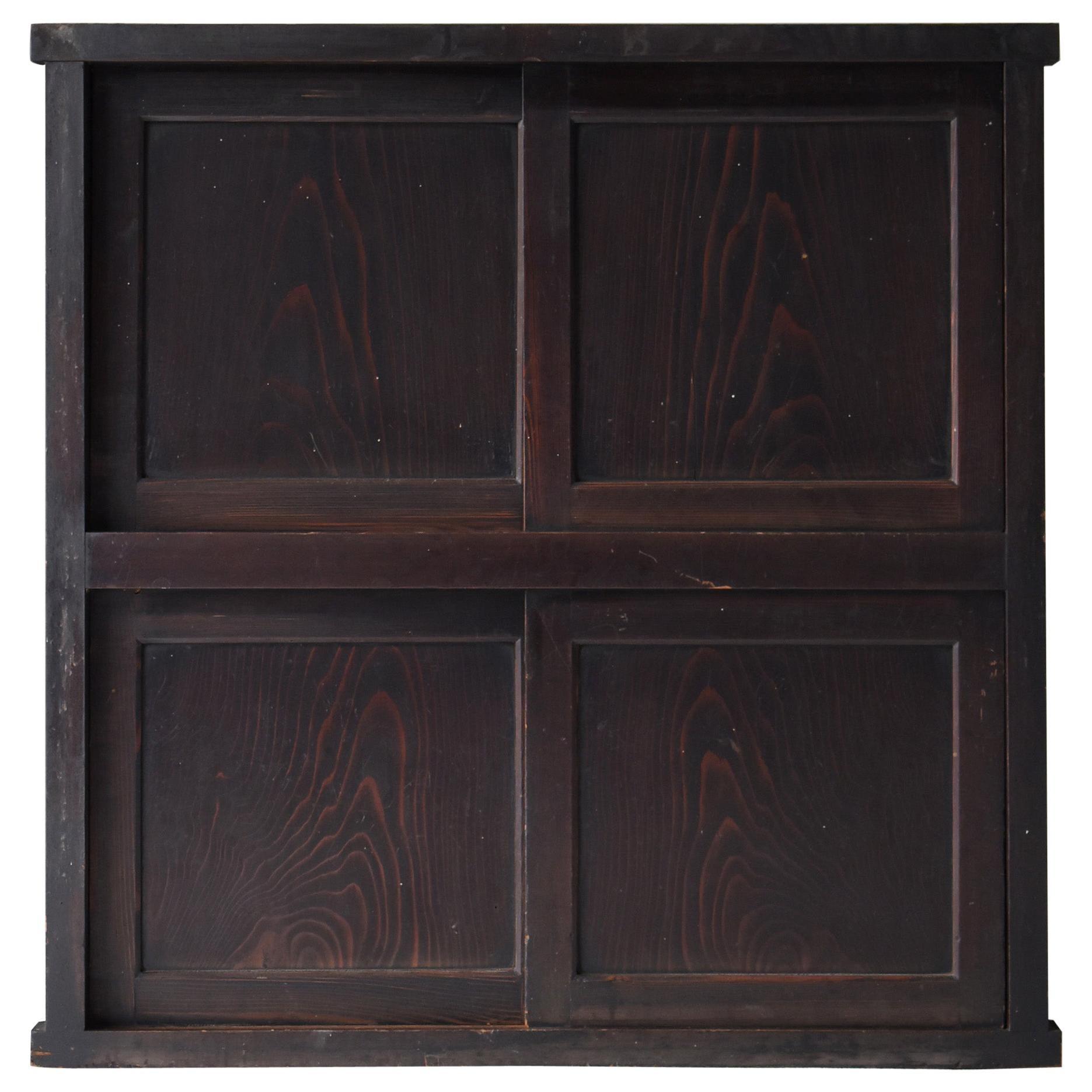Japanese Antique Storage Shelf 1800s-1900s/Chest of Drawer Cabinet Tansu