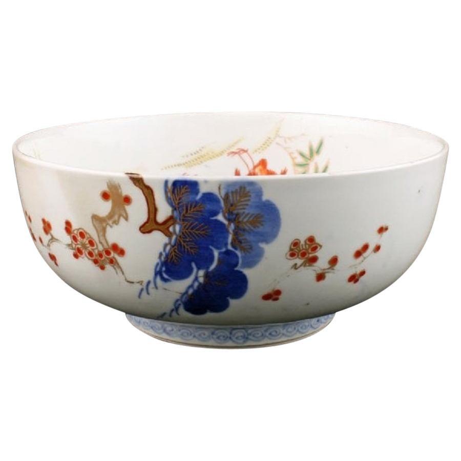 Japanese Arita Porcelain Bowl, 19th Century