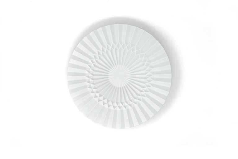 Japanese Arita Porcelain Tray 'Pliage' In New Condition In Milan, IT