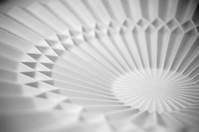 Japanese Arita Porcelain Tray 'Pliage' 2