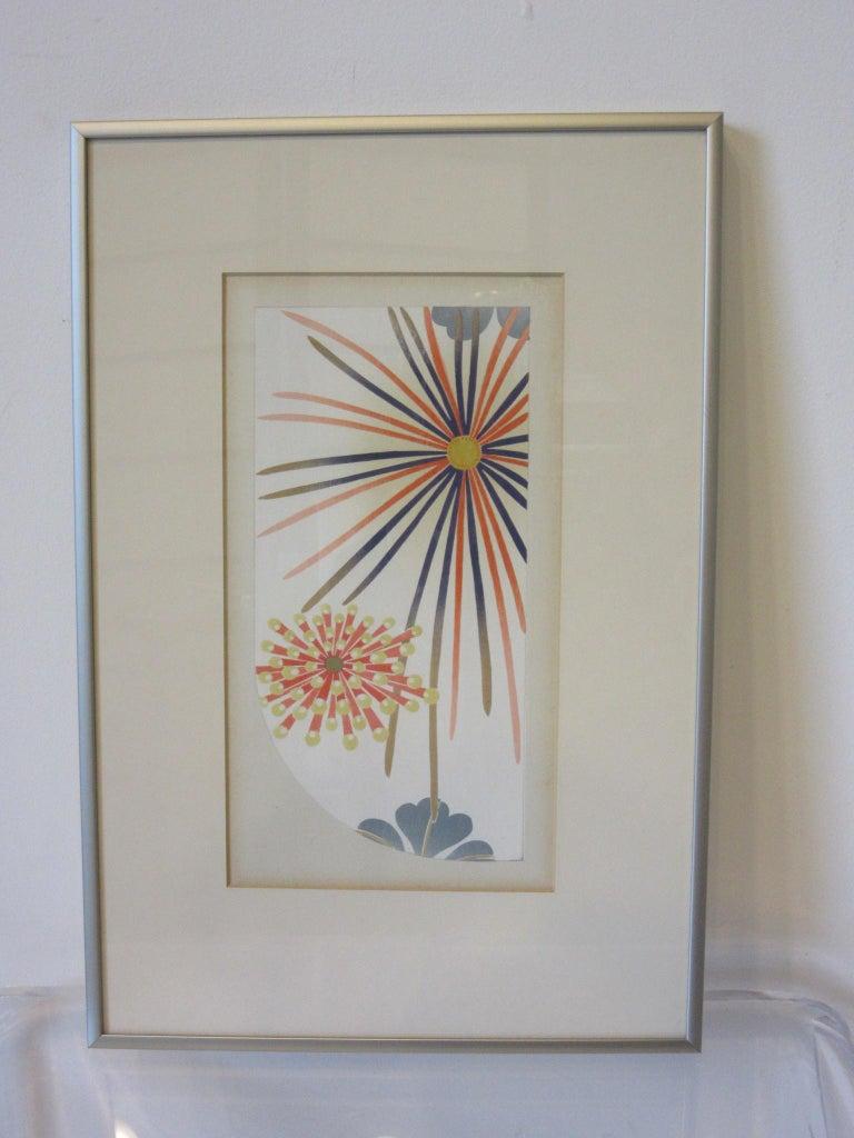 20th Century Japanese Art Deco Styled Woodblock Prints by Jun Hisatomi & Tamaki Yoshida For Sale