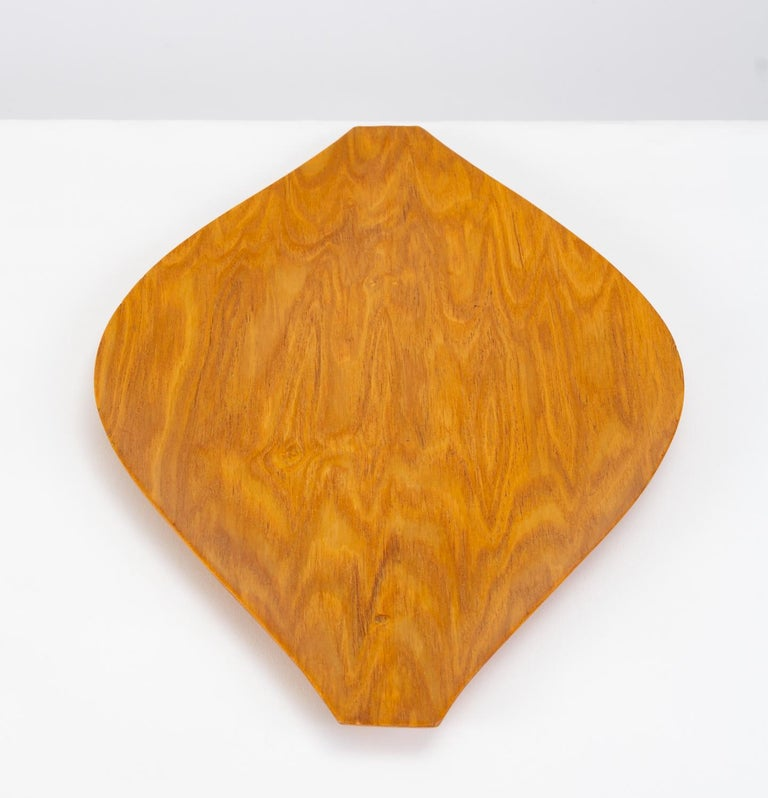 Molded Japanese Bent Plywood Tray For Sale