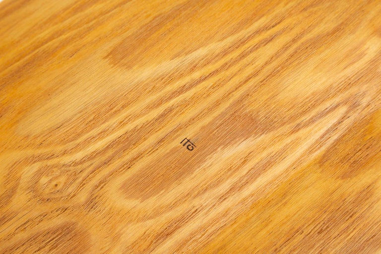 20th Century Japanese Bent Plywood Tray For Sale