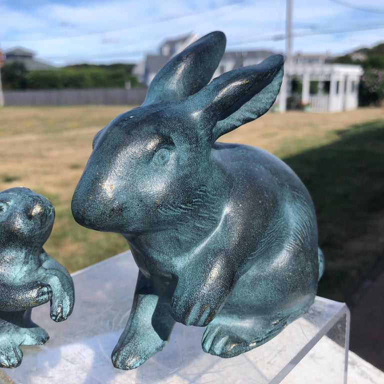 Showa  Japanese Big Blue Rabbits  For Sale