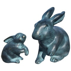 Japanese Big Blue Rabbits