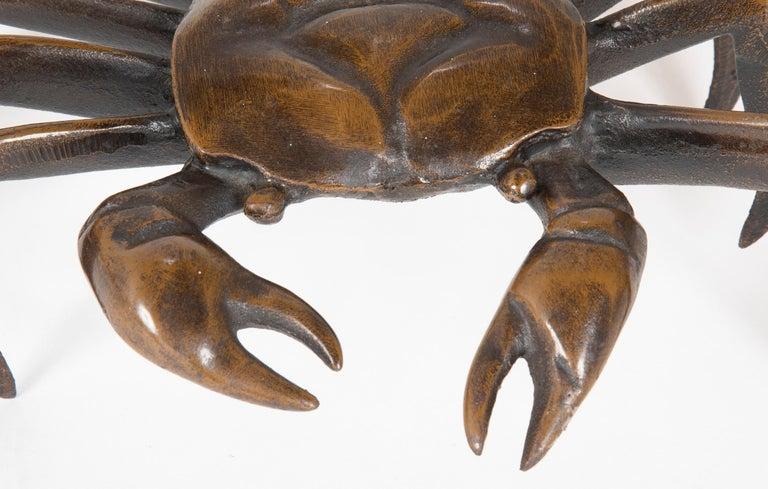 Japanese Bronze Crab Sculpture 1
