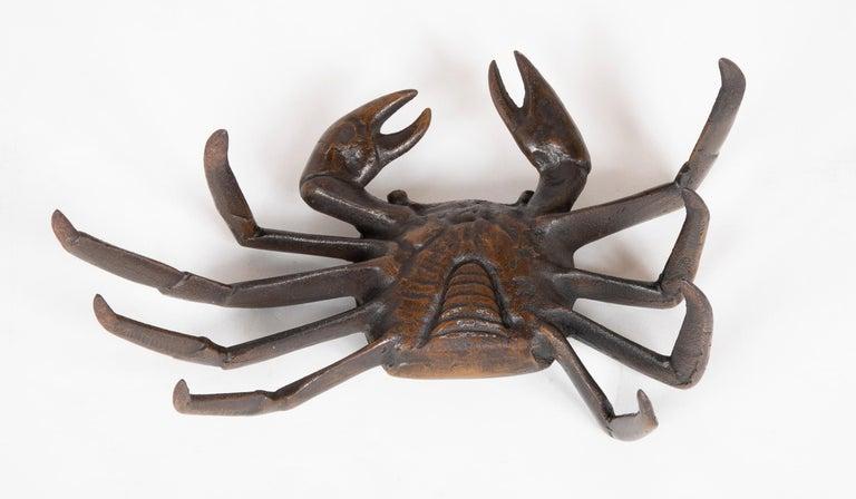 Japanese Bronze Crab Sculpture 2