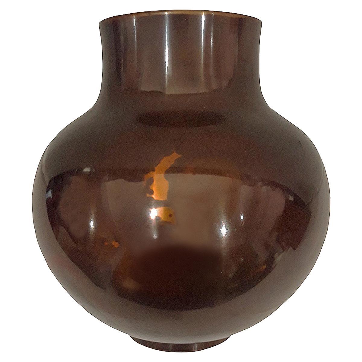 Japanese Bronze Vase, Early 20th Century