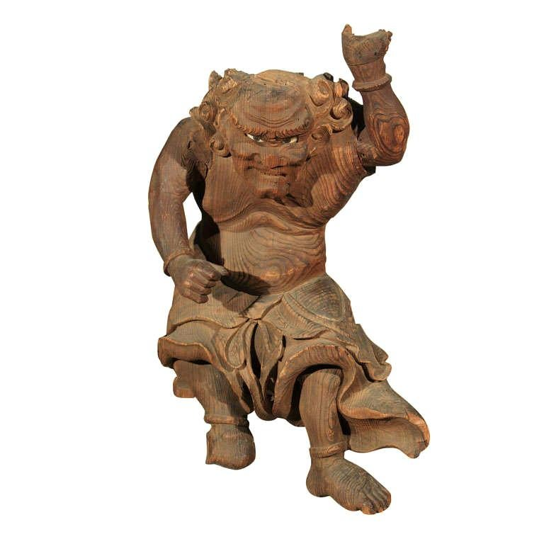 Japanese Carved Figure