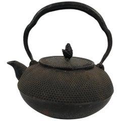 Japanese Cast Iron Nanbu Tekki Teapot