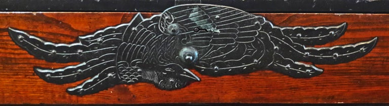 Japanese Cedar / Elm Tansu, Edo Period, Mid-18th Century For Sale 6