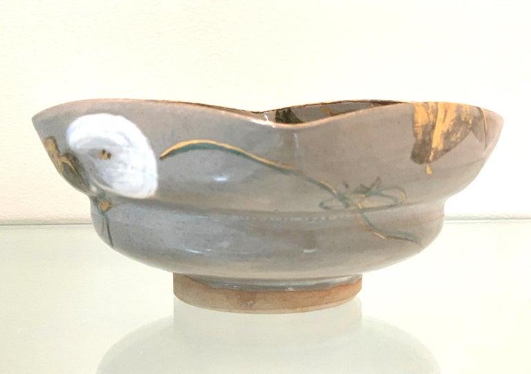 Japanese Ceramic Bowl Makuzu Kozan Utusushi Kenzan For Sale 1