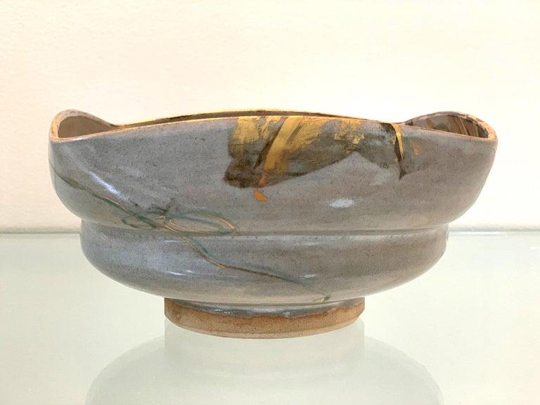 Japanese Ceramic Bowl Makuzu Kozan Utusushi Kenzan For Sale 2