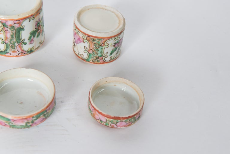 Japanese Ceramic Jar Set For Sale 5