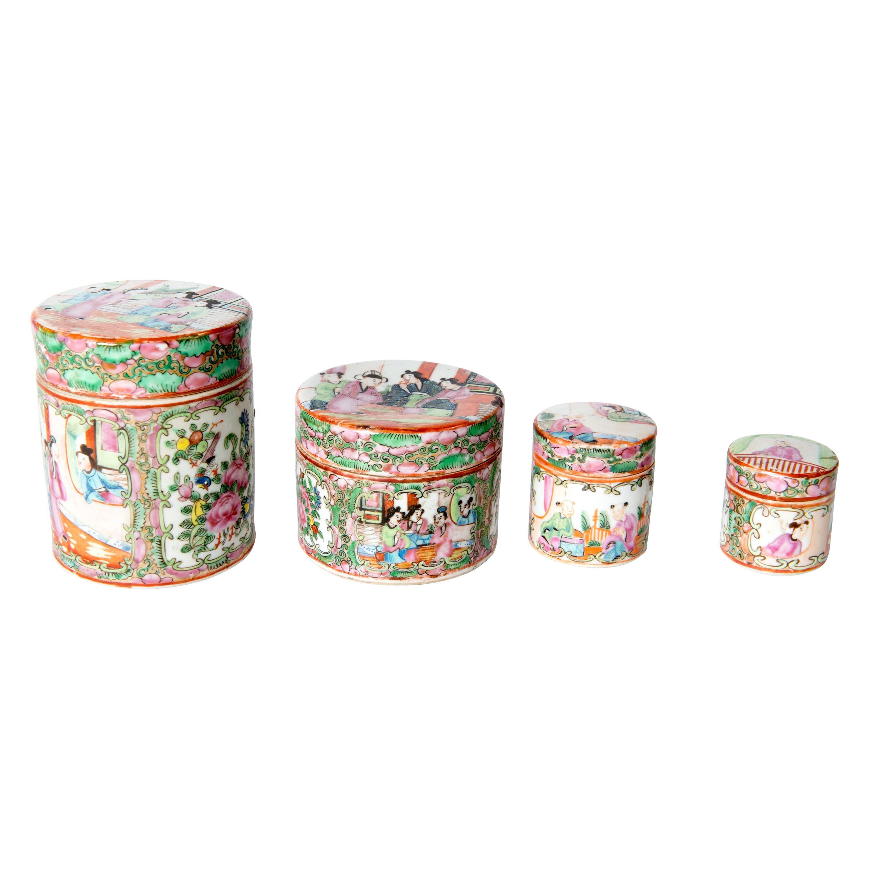 Japanese Ceramic Jar Set
