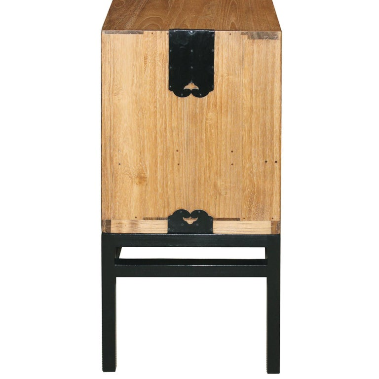 Japanese Chest with Sliding Doors For Sale 4