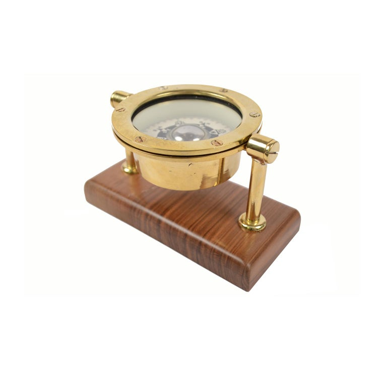 Japanese Compass Made in the Early 1900 For Sale 6