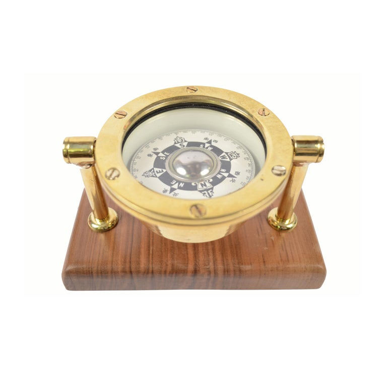 Japanese Compass Made in the Early 1900 In Excellent Condition For Sale In Milan, IT