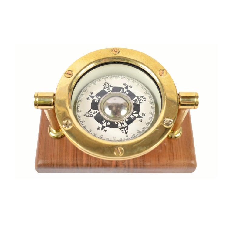 20th Century Japanese Compass Made in the Early 1900 For Sale