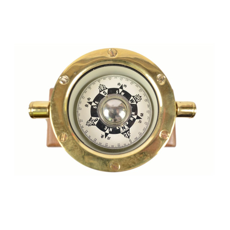 Japanese Compass Made in the Early 1900 For Sale 3