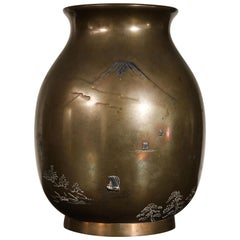 Japanese Copper Vase