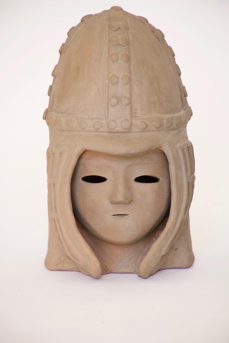 20th Century Japanese Decorative Haniwa Style Ceramic Figures For Sale