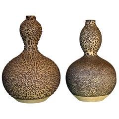 Japanese Double Gourd Sake Bottles