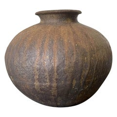 Japanese Echizen Ceramic Tsubo Fujita Jurouemon VIII