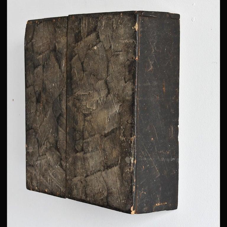 Cedar Japanese Edo Period '18th-19th Century' Wooden Box Lid For Sale