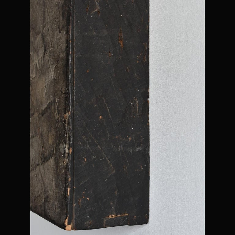 Japanese Edo Period '18th-19th Century' Wooden Box Lid For Sale 1