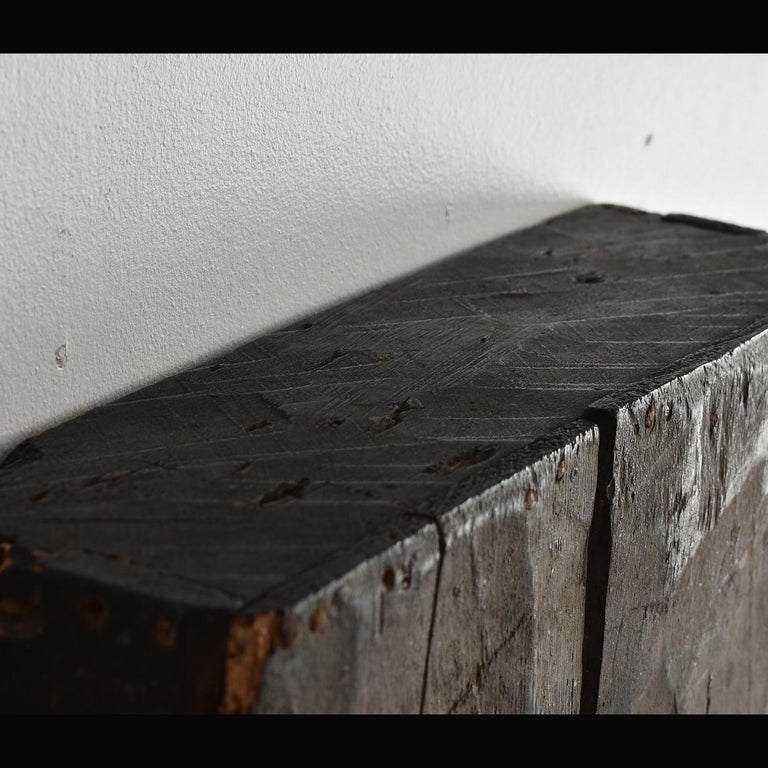 Japanese Edo Period '18th-19th Century' Wooden Box Lid For Sale 2