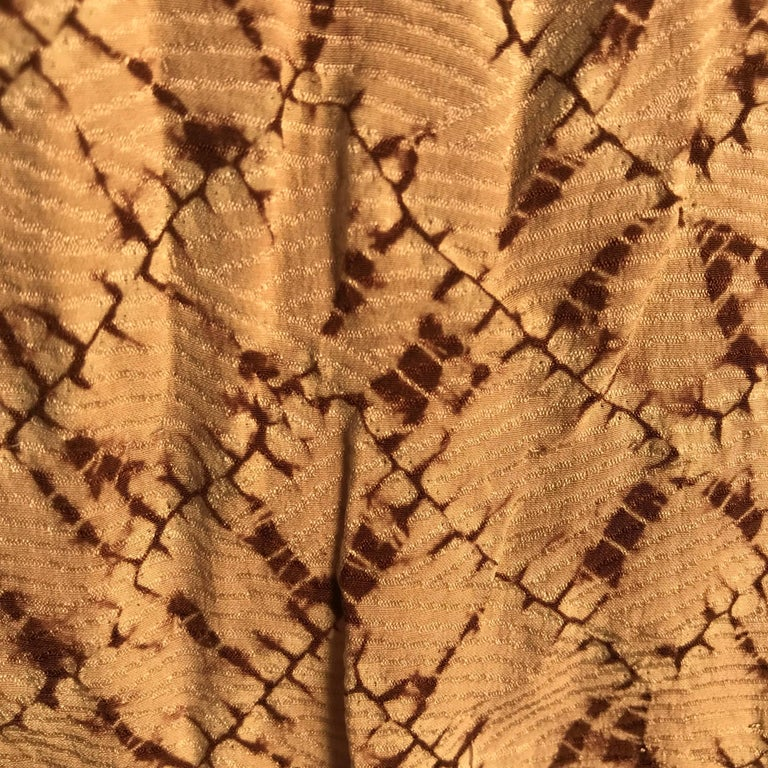 Japanese Fine Vintage Hand Sewn Silk Kimono Quilt Wall Art, Pretty Pastels For Sale 14