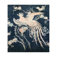 Japanese Folk Art Tsutsugaki Futon Cover, circa 1890.