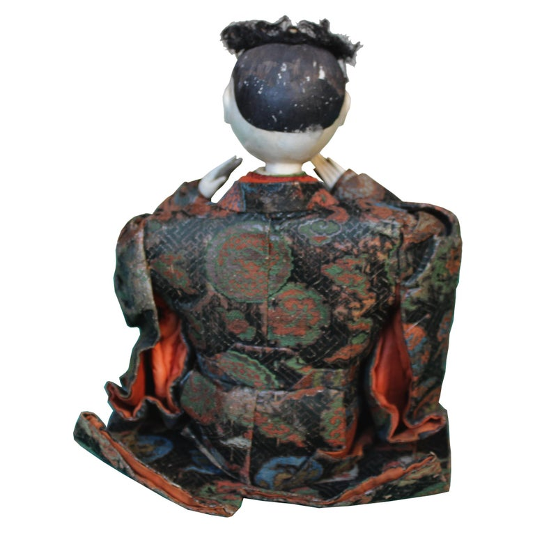 Wood Japanese Handcrafted Musician For Sale
