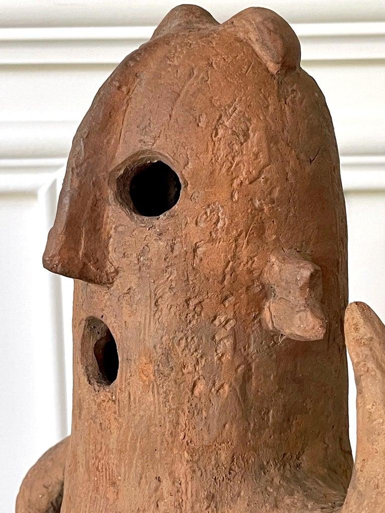 Japanese Haniwa Burial Pottery Figure Kofun Period For Sale 5