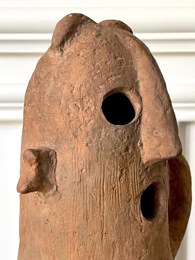 Japanese Haniwa Burial Pottery Figure Kofun Period For Sale 6