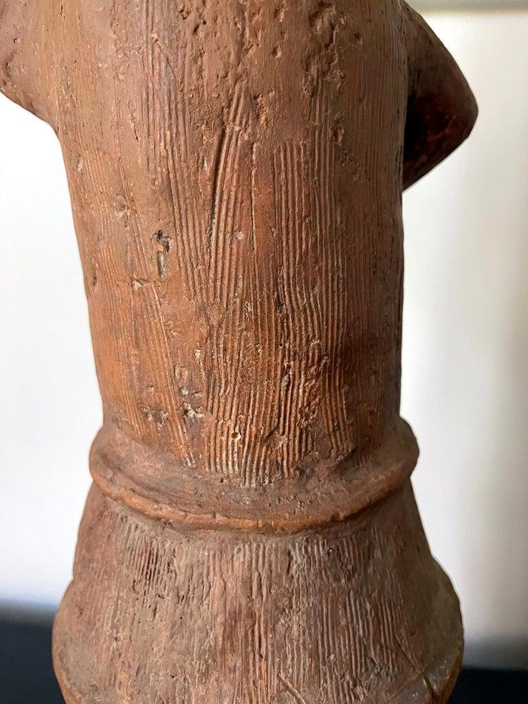 Japanese Haniwa Burial Pottery Figure Kofun Period For Sale 8