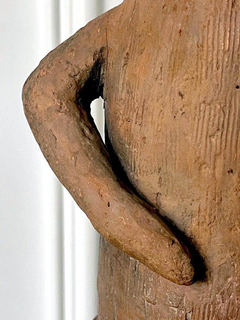 Japanese Haniwa Burial Pottery Figure Kofun Period For Sale 9
