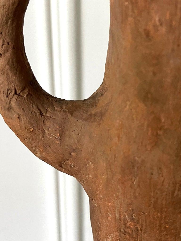 Japanese Haniwa Burial Pottery Figure Kofun Period For Sale 10