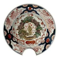 Japanese Imari Barbers Bowl, c. 1700, Edo Period