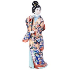 Japanese Imari Geisha, Early 20th Century