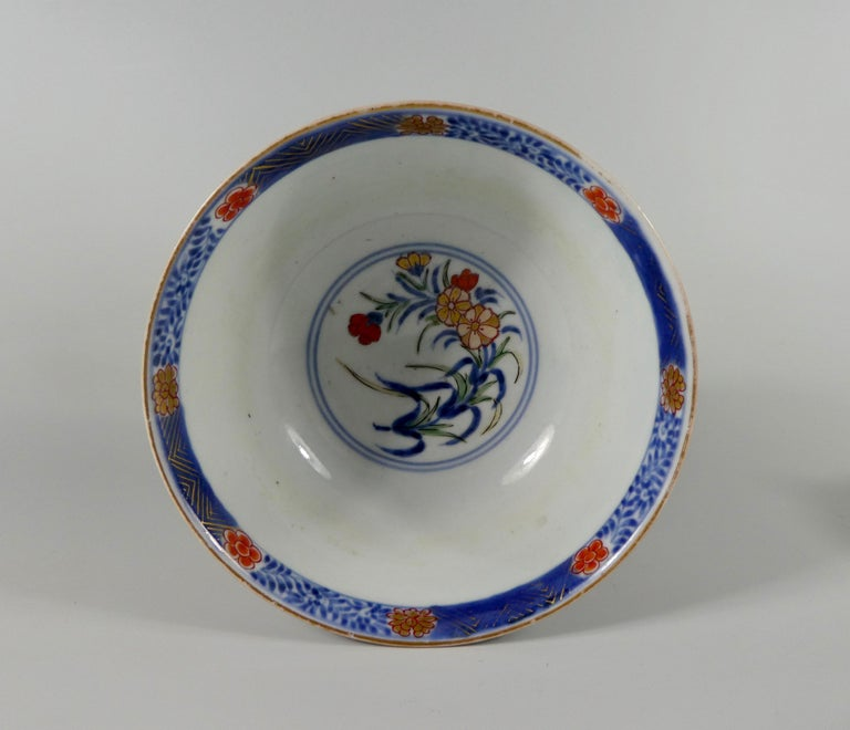 Late 17th Century Japanese 'Imari' Porcelain Bowl, Arita, circa 1700, Genroku Period For Sale
