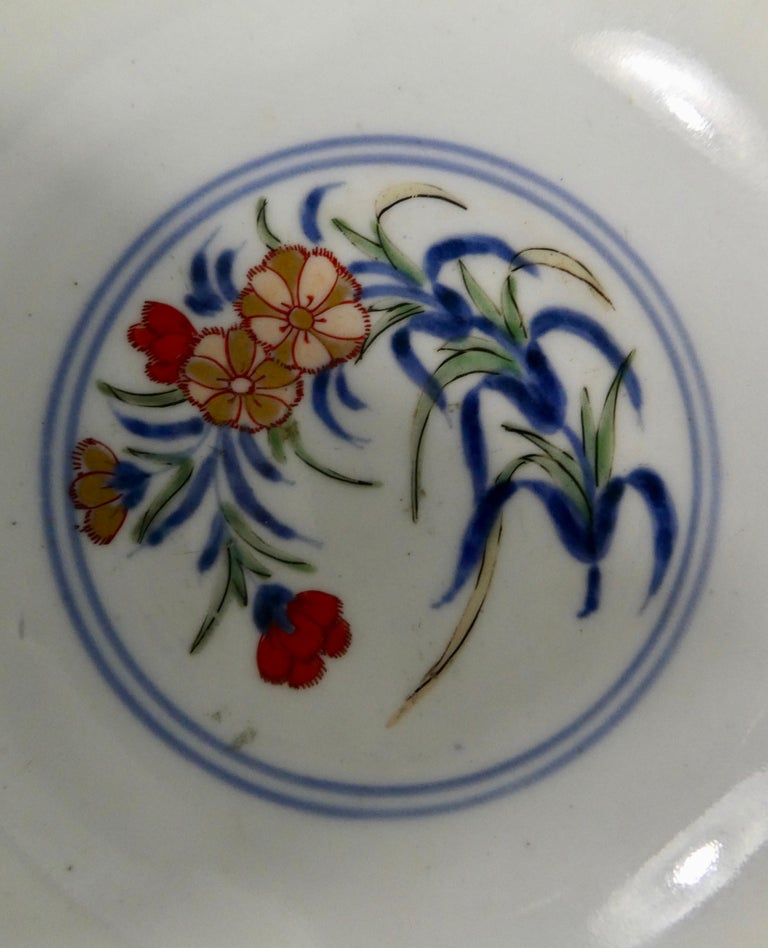 Japanese 'Imari' Porcelain Bowl, Arita, circa 1700, Genroku Period For Sale 1