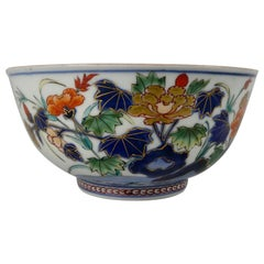 Japanese 'Imari' Porcelain Bowl, Arita, circa 1700, Genroku Period