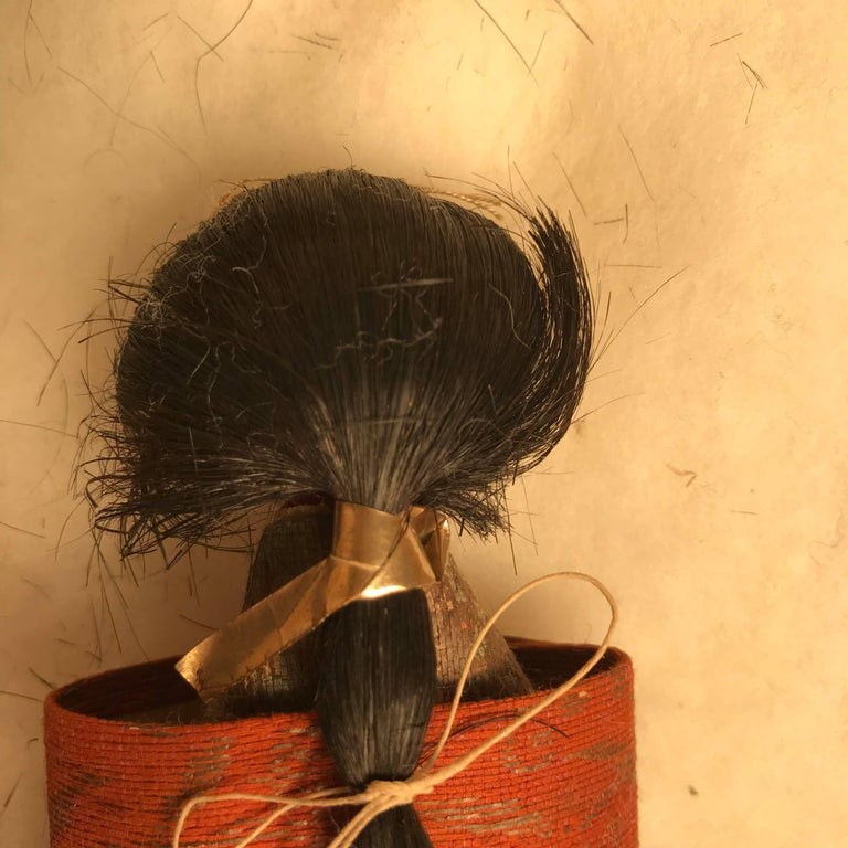 Japanese Imperial Pair Dolls 1840 For Sale 9